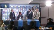 Балотели се появи на пресконференцията на треньор на Интер