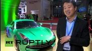 Китай: Suzhou Eagle's направиха кола на електричество, имитация на Porsche Cayman