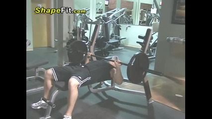 Barbell Bench Press - Chest Exercises For Bodybuilding