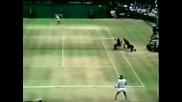 Björn Borg vs Roscoe Tanner. Wimbledon 1979 Final