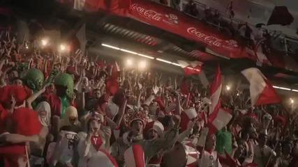 Кока кола-евро 2012 Реклама