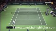 Gilles Simon vs Tomas Berdych - Rotterdam 2015