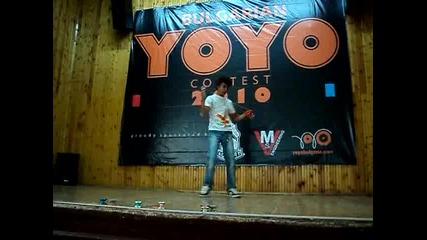 Byyc 2010 - 3min freestyle - Петър Христов