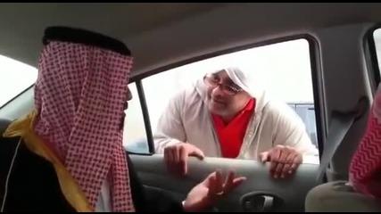 Смях ... Просяк проси пари в Дубай