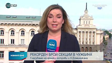 Новините на NOVA NEWS (21.06.2021 - 20:00)