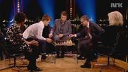 Най-добрият шахматист му трябваше една минута и 19 секунди, за да победи най-богатият човек в света!