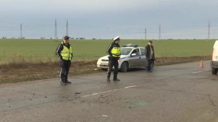 Млад мъж пострада тежко, след като излетя от колата си