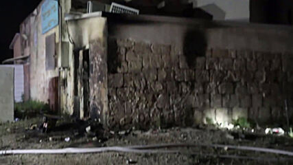 Israel: Firefighters on site after synagogue torched in Lod