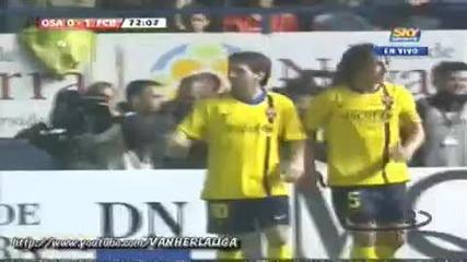 Osasuna vs Fc Barcelona 1 - 1