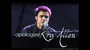 Kris Allen - Apologize (studio)