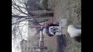 Паркур огромни аматиори
