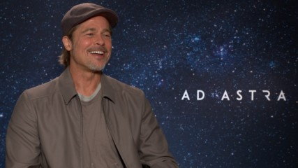 Brad Pitt talks sci-fi, space and getting in a WWE ring