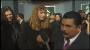 Guillermo Pisses Off Dave Mustaine of Megadeth at Grammys