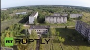 Latvia: Drone footage reveals former Soviet secret city of Skrunda-1