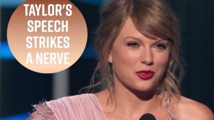 Тейлър Суифт отново получи хейт на наградите Билборд