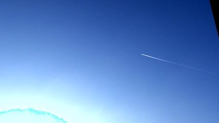Русе, преминаващи самолети над града