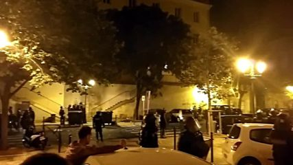 France: Protesters and police clash on streets of Bastia