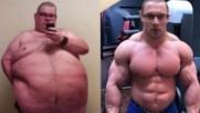 Реалната история на човекът направил уникална трансформация на тялото си!
