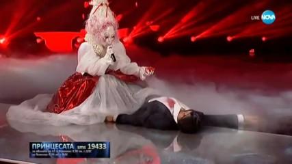 Принцесата изпълнява Истина на Милена | Маскираният певец