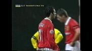 1998-99 Brondby - Manchester United 0:2 Ryan Giggs Goal