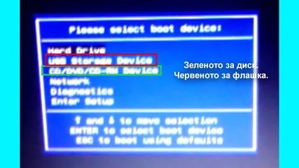 Възстановяване на Windows Mbr (зареждане на Windows)