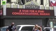 Марая Кери получи звезда на алеята на славата