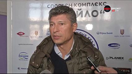 Балъков: Сърцето ми е в Етър, ще помагам със съвети