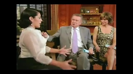 Sara Ramirez on Regis and Kelly