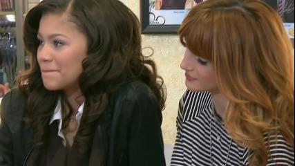 Bella Thorne & Zendaya - Shake It Up Live 2 Dance Bts