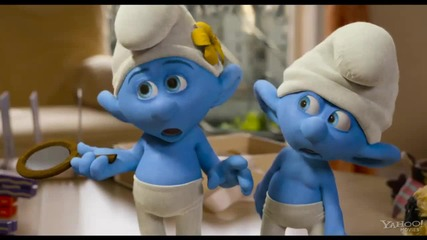 The Smurfs 2 Trailer (hd)