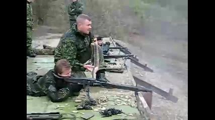 Strelba s Mg-3