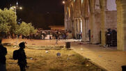 East Jerusalem: Over 170 injured in clashes between Palestinians and Israeli police at al-Aqsa mosque