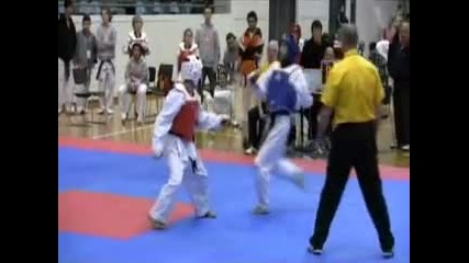 Taekwondo Victoria 2009 State Selections Wtf Tkd Sparring 01