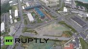 Дрон снима американската военна база Шваб в Япония