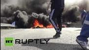 France: Striking ferry workers build huge fires to block Eurotunnel terminal