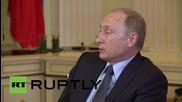 """Russia: Italian-Russian ties have always been """"privileged""""  - Putin"""