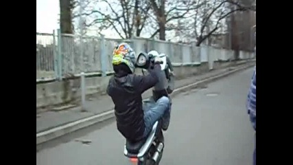 Beta Ark, Malaguti F12, Mbk Stunt - Stunt - Aprilia Sr morini нищо не прави