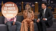 5 Funniest moments from Cardi B co-hosting Tonight Show