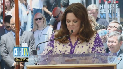 Melissa McCarthy's Tearful Thanks Parents