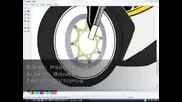 Рисуване На Мотор Yamaha R1  В Ms Paint