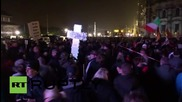 Germany: Thousands flood Dresden for PEGIDA's anniversary rally