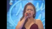 Валентина Хасан, Кен Лий, На Живо На Сцената На Music Idol 2 СТРАШНА Е!!!