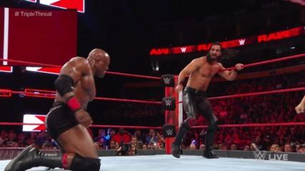 Сет Ролинс срещу Боби Лешли срещу Елиас: Първична сила, 16 юли 2018