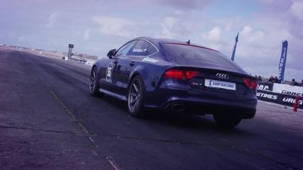 Най-бързото Audi R S 7 в света - 1/4 миля за 10.1 сек.