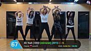 Top 100 Most Viewed Kpop Random Dance Practices October 2018