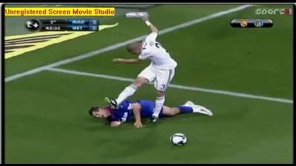 червен картон за Pepe - Real Madrid vs Getafe 21 - 04 - 2009 {hq}