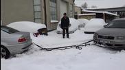 Audi помага на Bmw 330cd !!! Bg