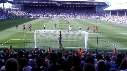 Dimitar Berbatov Fulham Fc Debut