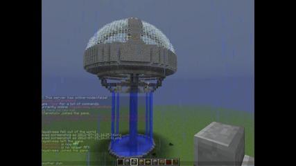 Minecraft server spawn map + download.