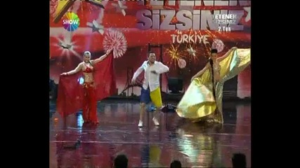 Yetenek sizssiniz Turkiye Yordan iliev 2 Tur ;dd